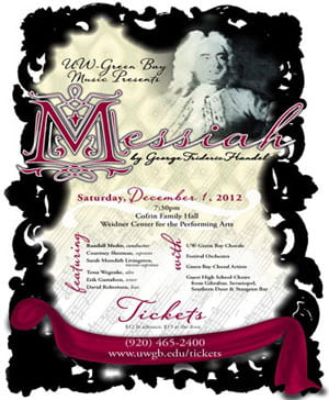 UW-Green Bay concert, Messiah