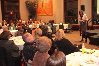 Stangel fires up 'After Thoughts' crowd with talk on the Green Bay Way