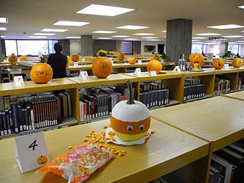 Pumpkins, Zumba:  A photo recap of Halloween on campus