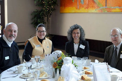 Grants luncheon brings faculty, staff together for celebration of scholarship