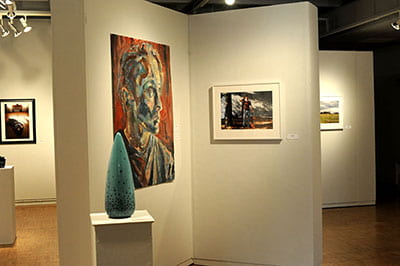 Final look: Student juried art exhibition