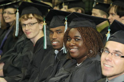 UW-Green Bay graduates