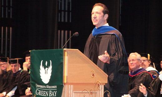 Frederick Heide, commencement speaker