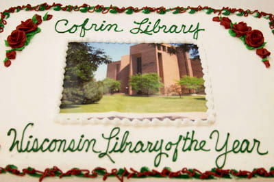 Cofrin Library luncheon