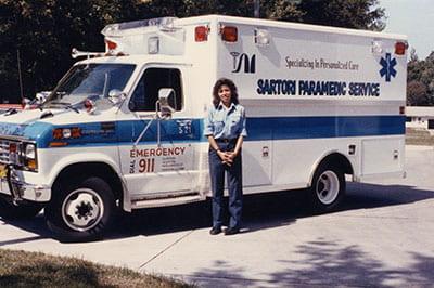 ambulances academia former emt now uwgb dean can