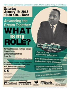 Martin Luther King Community Celebration