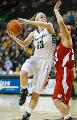 Adrian Ritchie, UW-Green Bay women's basketball