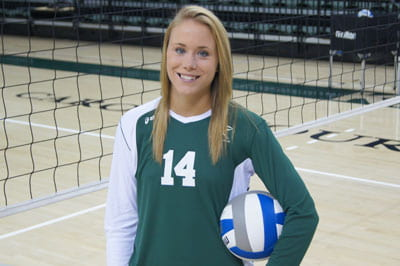 Lyndsay Zabkowicz, UW-Green Bay women's volleyball