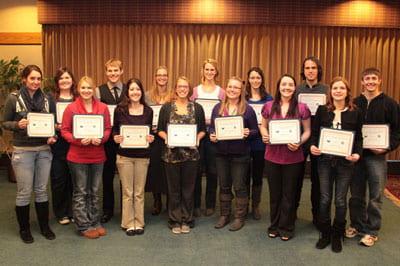 NAS scholarships recipients