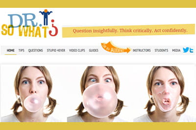 "New site, enduring concept: Clampitt's ""So What?"" continues to inspire"