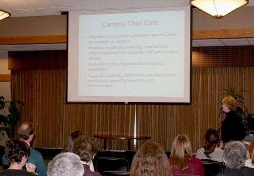 Campus child care presentation