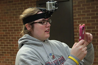 Queen of the Internet: For one week, she's voice of UW System