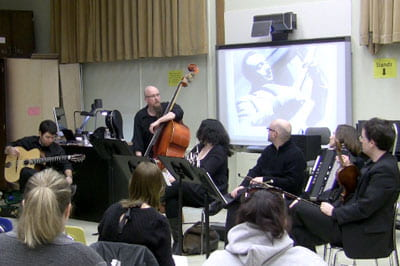 Jazz History course exemplifies 360° of Learning at UW-Green Bay