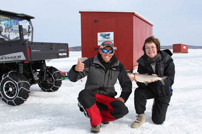 ice fishing photo gallery