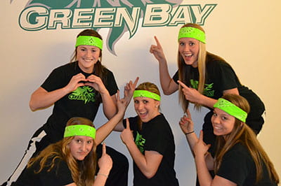 Green Bandana Brigade entertains, energizes