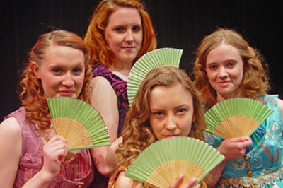 UW-Green Bay Theatre presents Shakespeare's 'Love's Labor's Lost'
