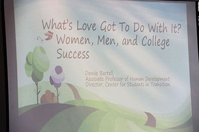 Love, sex and success: Relationships the focus of year's last 'After Thoughts'
