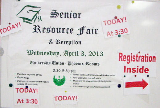Senior Resource Fair and Reception, April 3, 2013