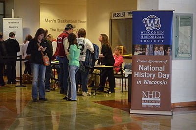 Hands-on history: Regional competition held at UW-Green Bay