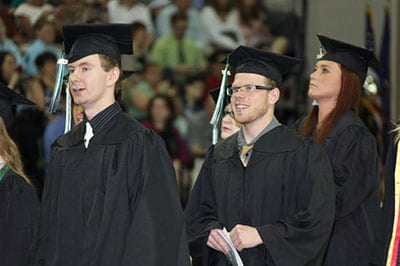 'Like a family to me': Sights, sounds of UW-Green Bay spring commencement