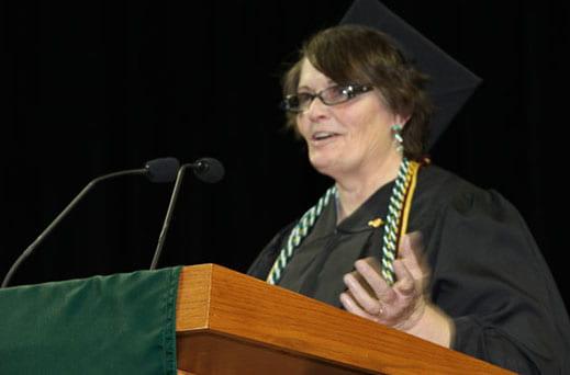 Student Speaker Sherry Benson