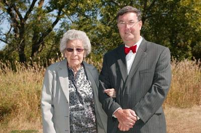 Maria Hinton and Cliff Abbott