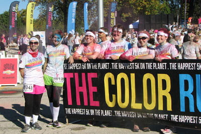 7,000 plus participated in the 'Happiest 5K on the Planet'