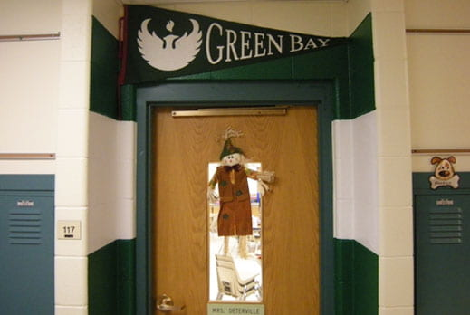UWGB door