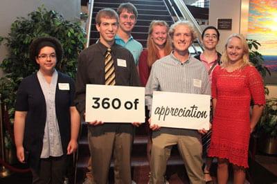 Chancellor's Named Scholarship Reception