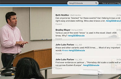 Learning in the Twitter Age: Faculty embrace challenges, opportunities of social media
