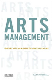 Arts Management, new book by Ellen Rosewall
