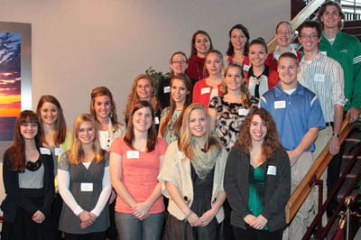 Founders Scholarship Reception