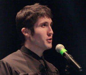 Greg Muller, graduate, commencement