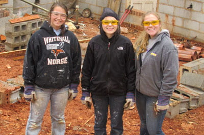 Warm memories of a cool trip: January in Raleigh with Habitat for Humanity