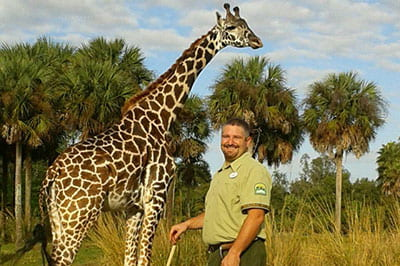 Ryan Taylor '05 works in dream job at Disney's Animal Kingdom