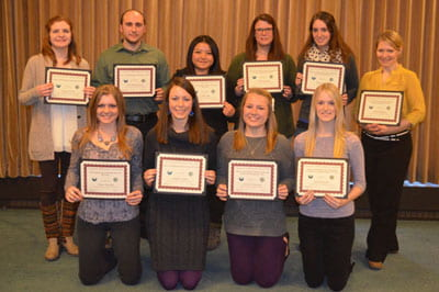 Natural and Applied Sciences awards nearly $16K in scholarships