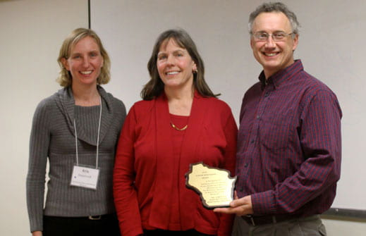 Prof. Kevin and Jill Fermanich, Volunteer Stream Monitoring Award