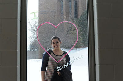 Close-ups: Sharing the love throughout UW-Green Bay