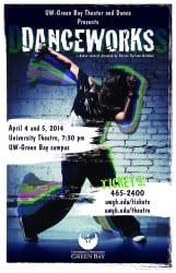 2014 Danceworks Poster