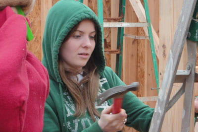Student Marleigh Fiedler