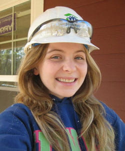 Marleigh Fiedler, Habitat for Humanity trip