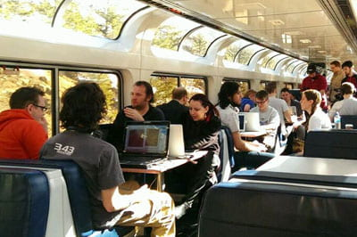 Ben Geisler, Train Jam experience