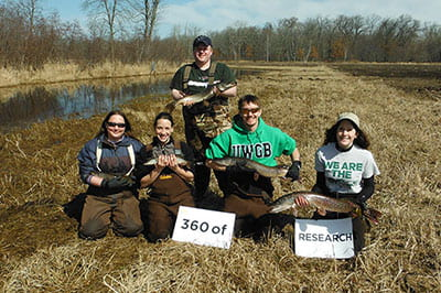Researchers to the rescue: Science students help save fish