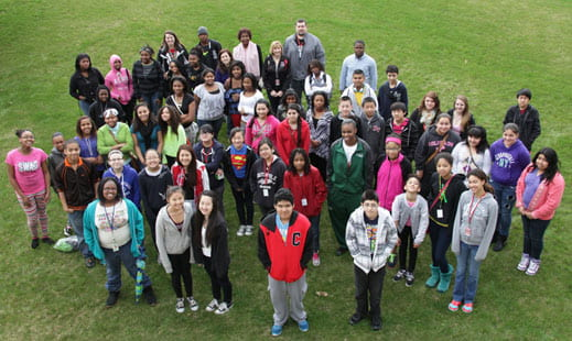 Green Bay students visit UWGB