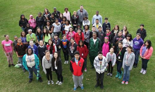 Green Bay students visit UWGB