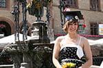 Alumni rising: Research sparks international career for Von Holzen