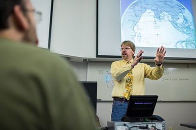 Ganyard earns UW System Regents Teaching Excellence Award