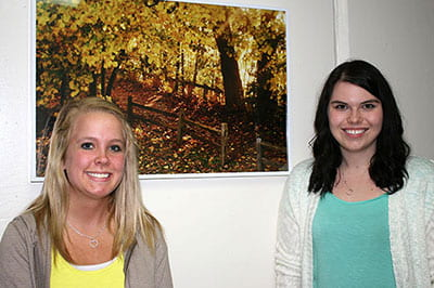 Psych, Human Development projects beautify campus with purpose