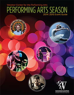 Weidner Center 2014/15 Performing Arts Season