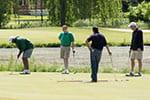 Alumni enjoyed golfing 'fore' scholarships